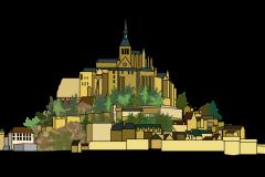 ロワール古城